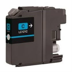 BROTHER LC121C compatible - Cartouche d'encre cyan