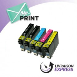 Pack EPSON C 13 T 18164010 / 18XL compatible