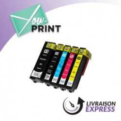 Pack EPSON C 13 T 33574010 / 33XL compatible