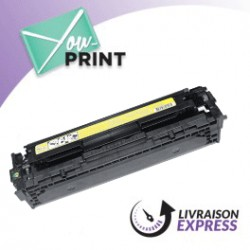 HP CB542A / 125A alternatif - Toner Jaune