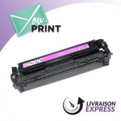 HP CB543A / 125A alternatif - Toner Magenta