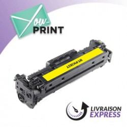 HP CF382A / 312A alternatif - Toner Jaune
