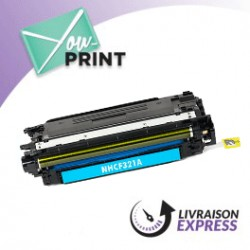 HP CF321A / 653A alternatif - Toner Cyan