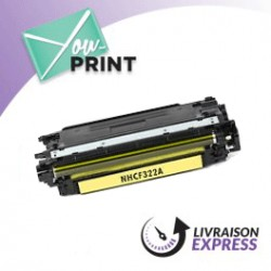 HP CF322A / 653A alternatif - Toner Jaune