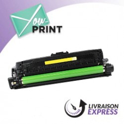 HP CE742A / alternatif - Toner Jaune