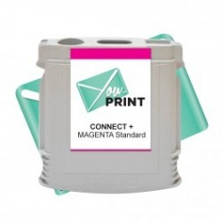 Cartouche Pitney Bowes SendPro Connect compatible MAGENTA