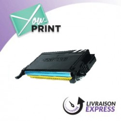 Samsung CLTY6092SELS / Y6092S compatible - Toner Jaune