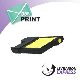 BROTHER LC980Y compatible - Cartouche d'encre jaune