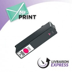 Lexmark 14N1070E / 100XL alternative - Cartouche jet d'encre magenta