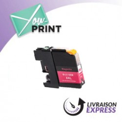 BROTHER LC12EM compatible - Cartouche d'encre magenta