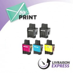 BROTHER LC900VALBPDR alternatif - Pack de cartouches jet d'encre