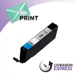CANON CLI-571 CXL / 0332 C 001 alternatif - Cartouche Cyan