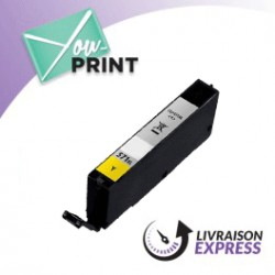 CANON CLI-571 YXL / 0334 C 001 alternatif - Cartouche Jaune