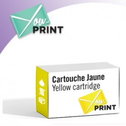CANON BCI-1302 Y / 7720 A 001 alternatif - Cartouche Jaune