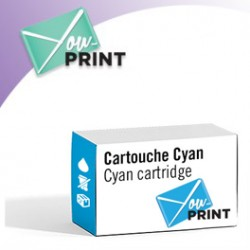 CANON PFI-207 C / 8790 B 001 alternatif - Cartouche Cyan